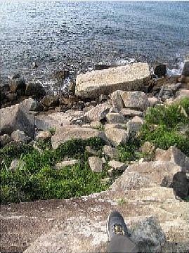 海下尋棺材石