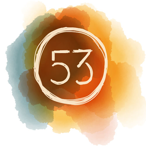 """我的畫作貼堂到 """"53工作室""""!"""