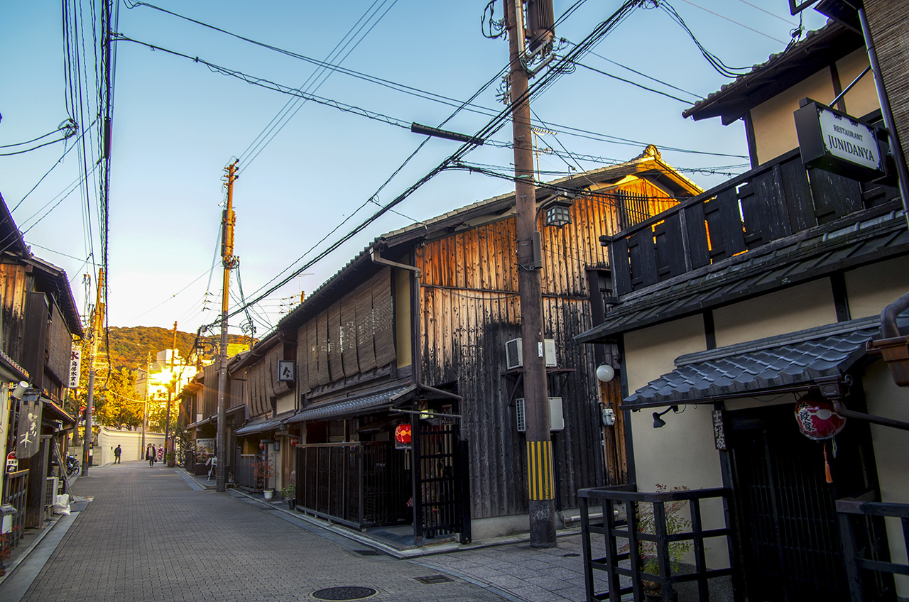 2016秋遊京都の愛上京都老房子