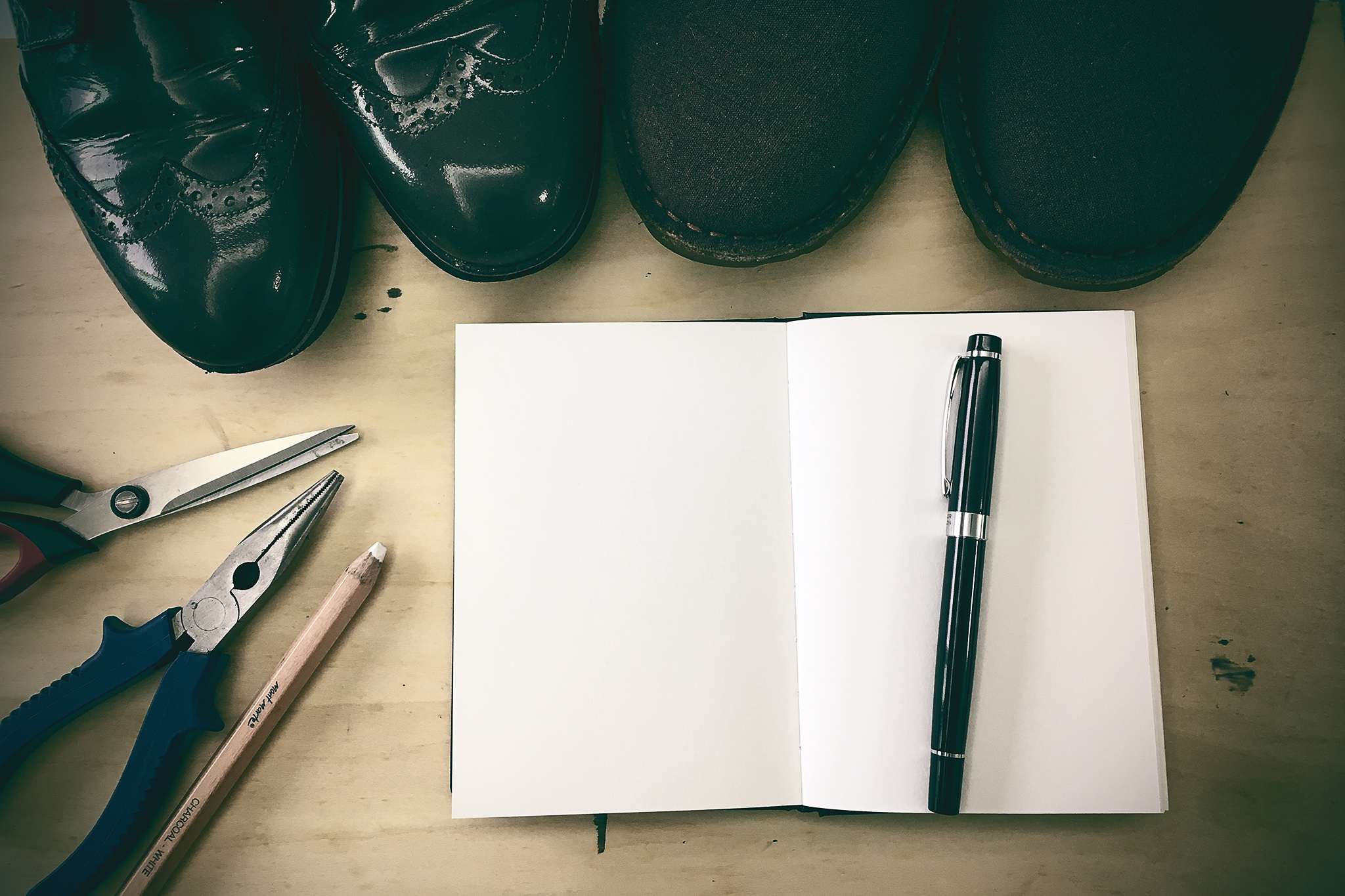 《一分鐘故事:鞋匠的黑皮簿》